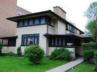 Фрэнк Ллойд Райт (Frank Lloyd Wright): Joseph J. Walser Jr. Residence, Chicago, Illinois (Дом Дж.Дж. Уолсера, Чикаго, Иллинойс), 1903