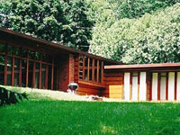 Фрэнк Ллойд Райт (Frank Lloyd Wright): Herbert Jacobs House I, Madison, Wisconsin (Дом Герберта Джекобса, Мэдисон, Висконсин), 1936—1937
