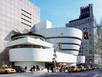 Фрэнк Ллойд Райт (Frank Lloyd Wright): Solomon R. Guggenheim Museum, New York (Музей Соломона Р. Гуггенхайма, Нью-Йорк), 1943—1959